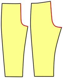 ドール用のズボンの作り方